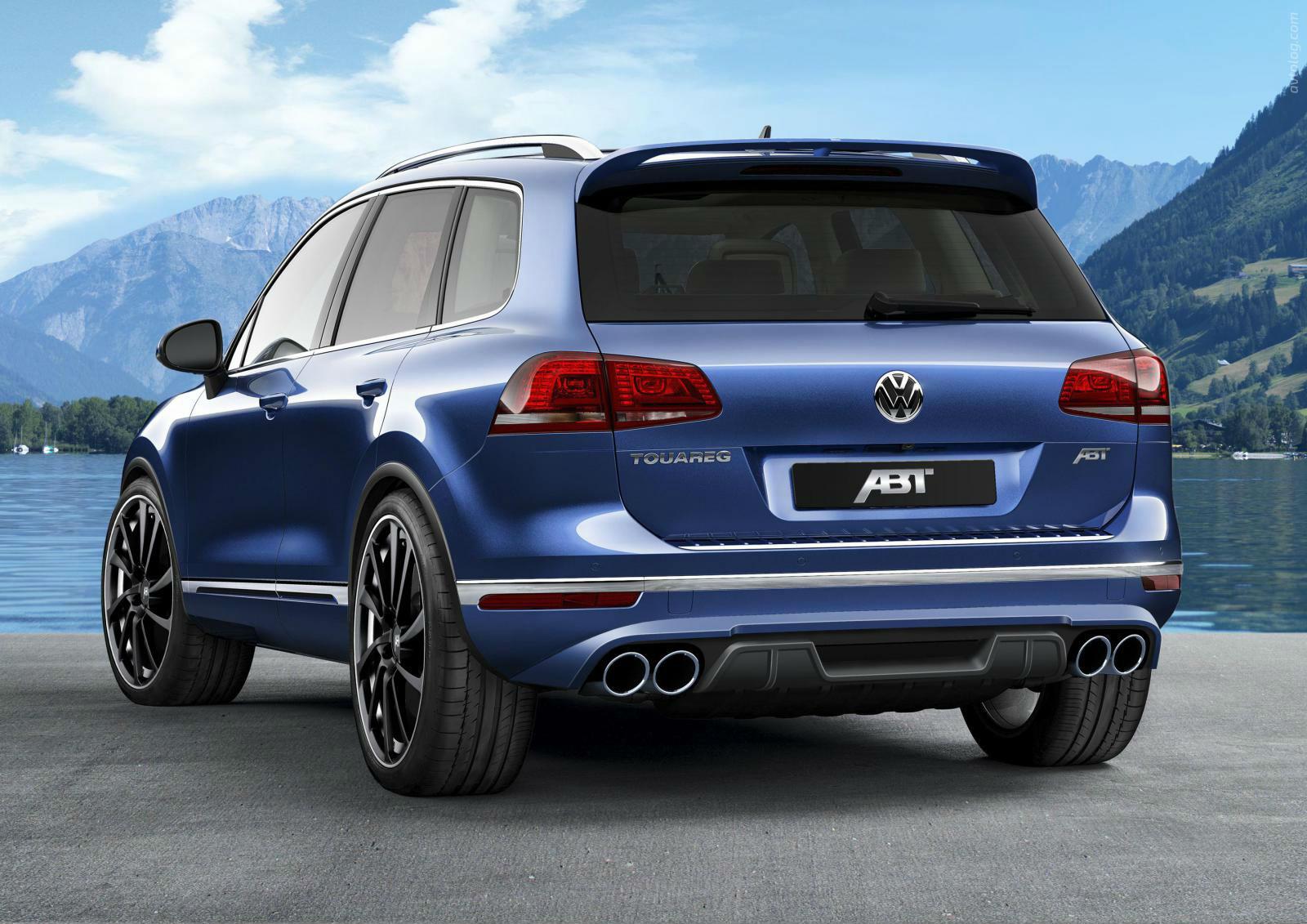 El Volkswagen Touareg ABT deja el campo y se muda al asfalto