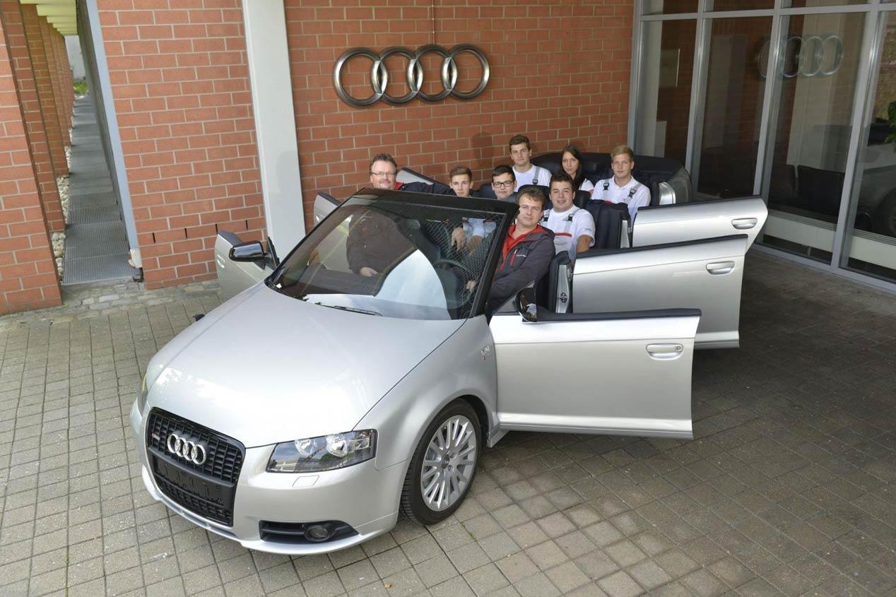 El Audi A3 Cabrio ¡de seis puertas!