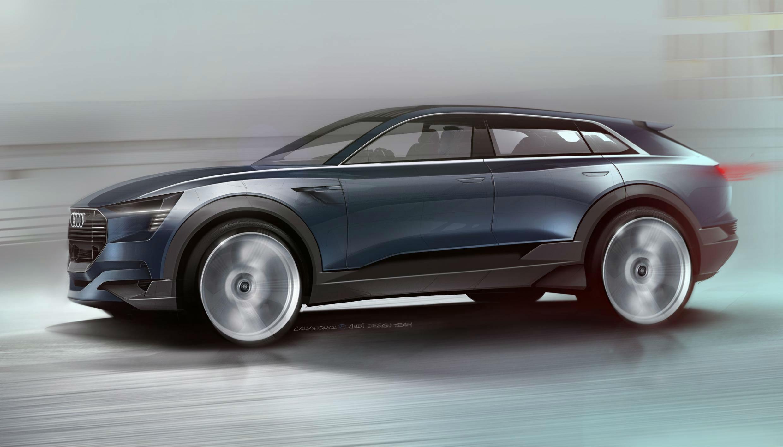 Audi Quattro e-tron Concept 1