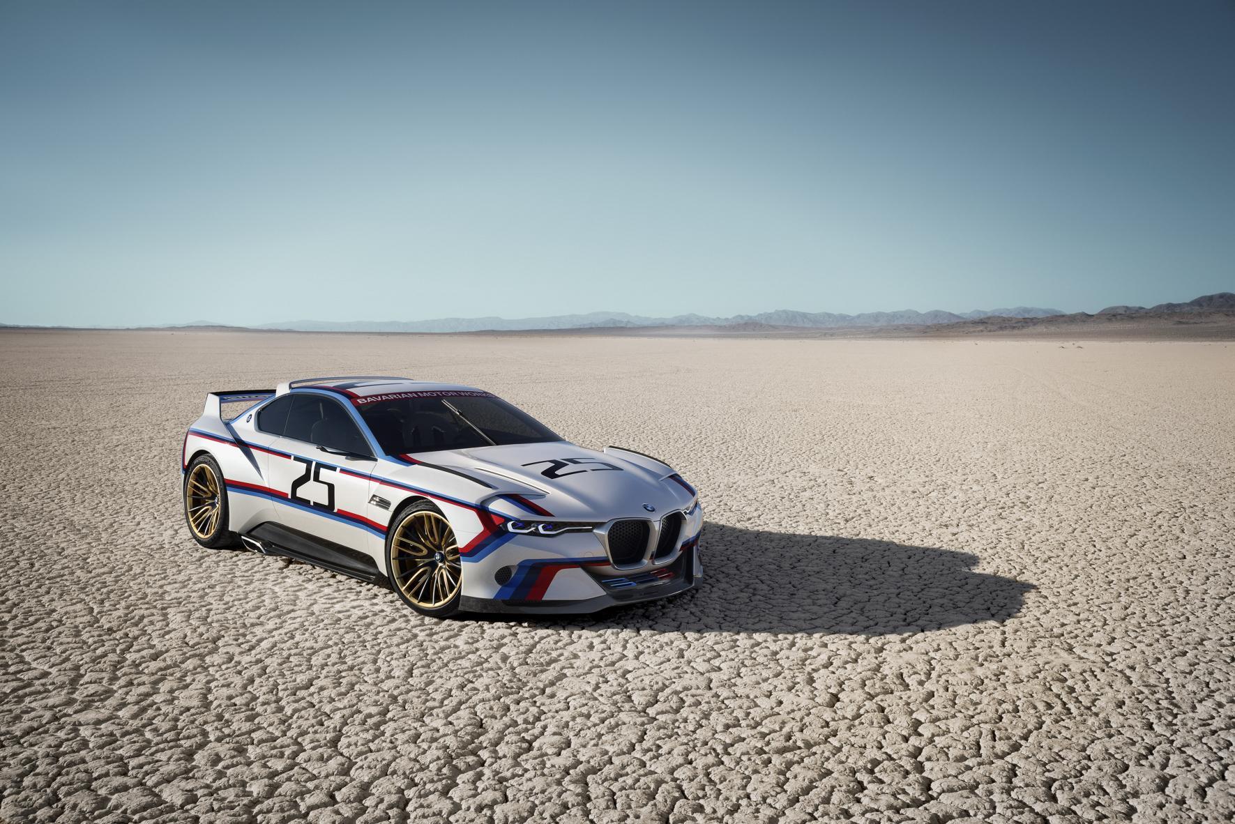 BMW 3.0 CSL Hommage R, una de homenajes