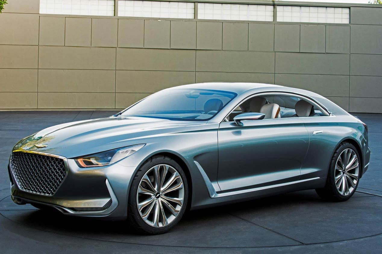 Hyundai Vision G Concept Coupe 1