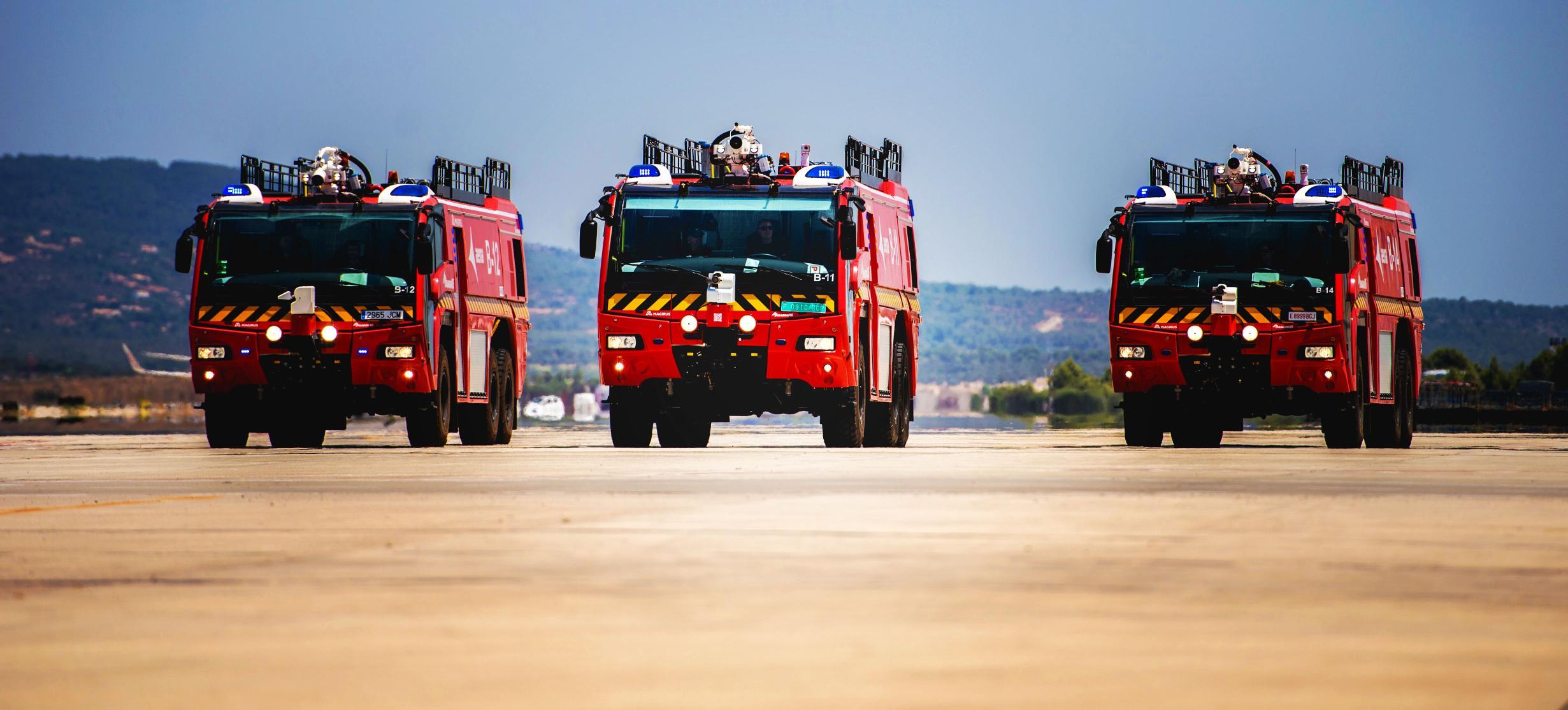Magirus DragonX6: el bombero más eficaz