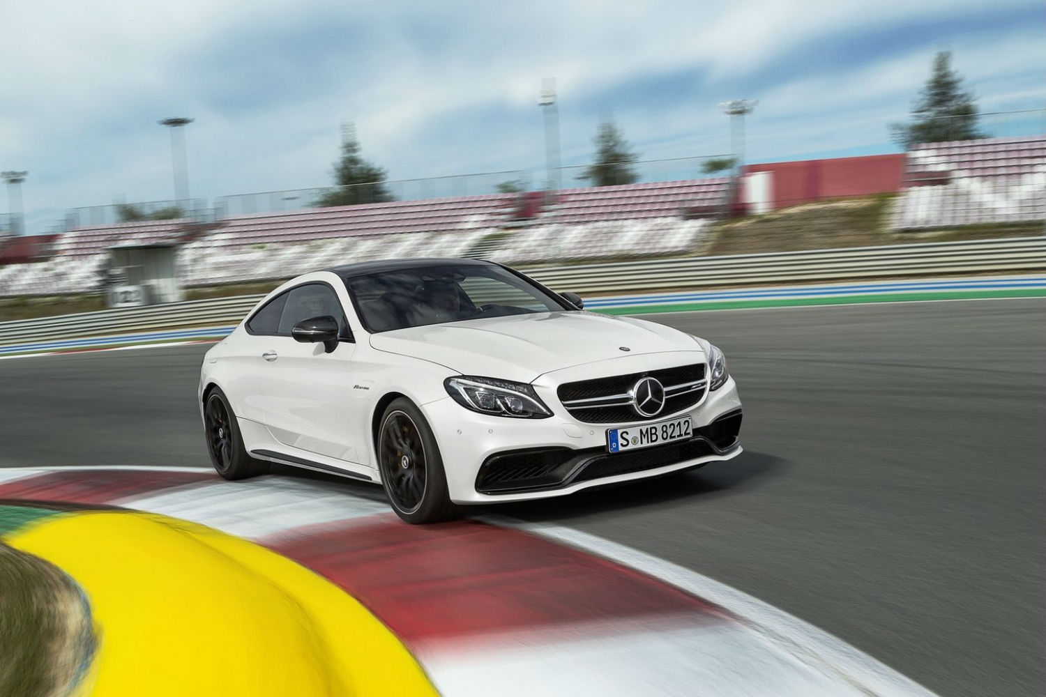 Mercedes AMG C 63 Coupe 1