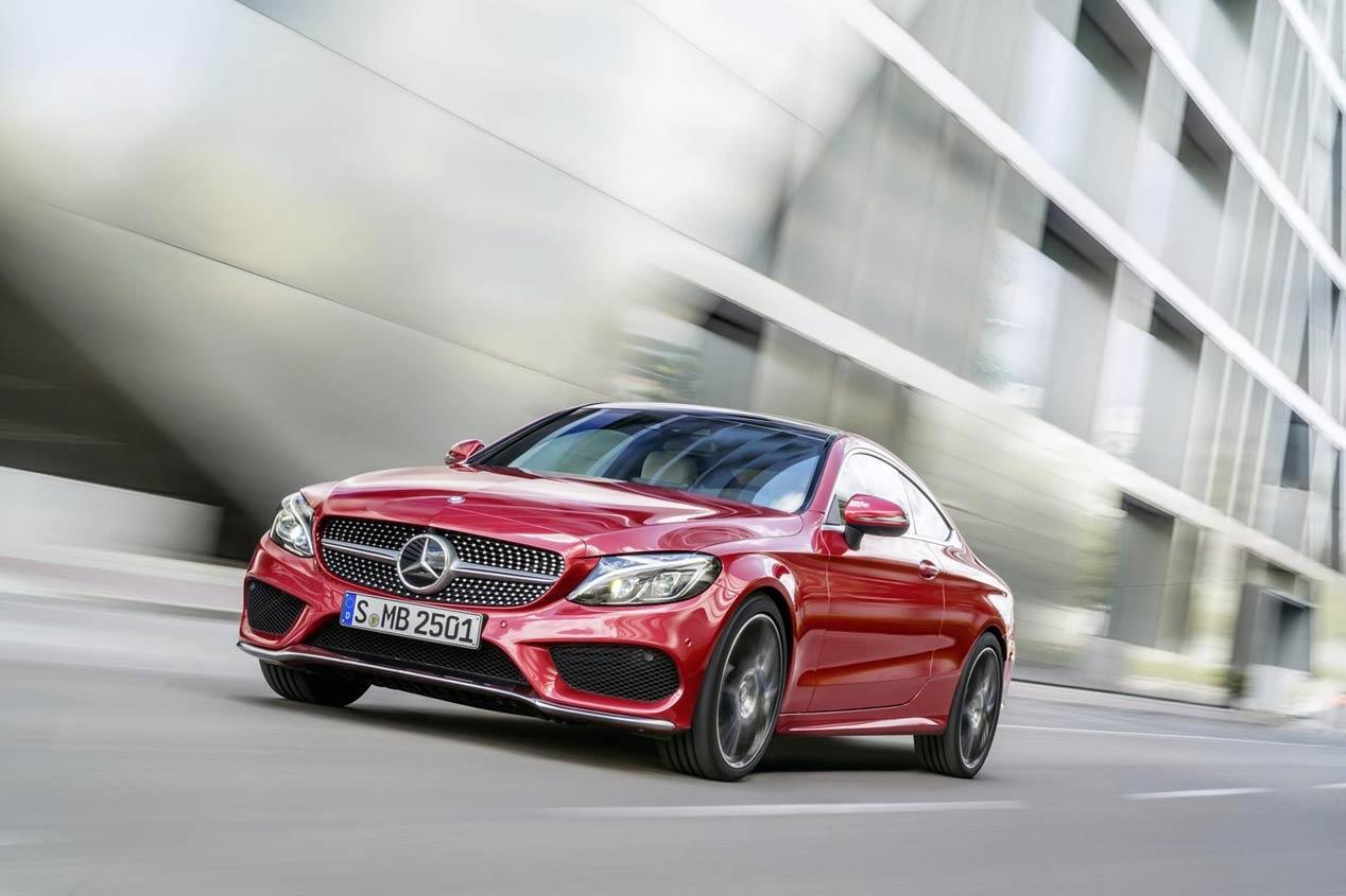 Mercedes Clase C Coupe 1