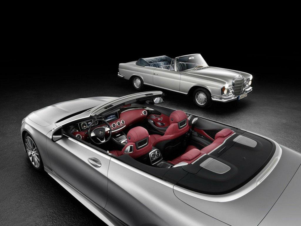 El Mercedes Clase S Cabrio insinúa su interior
