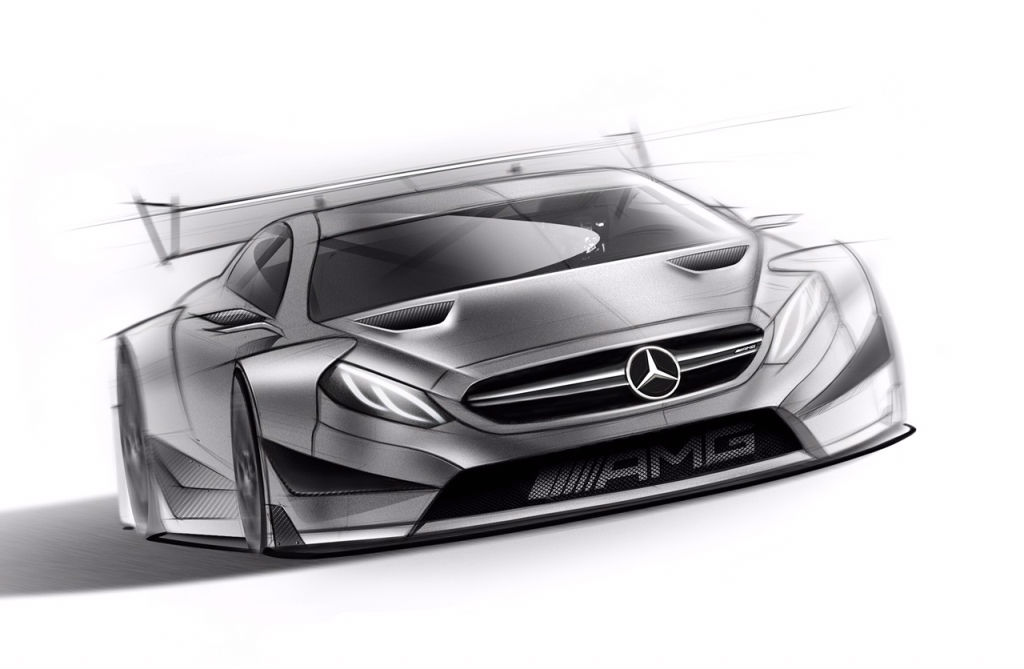 Mercedes DTM 2