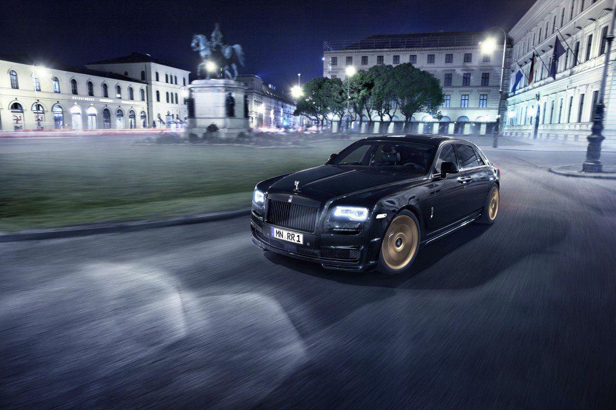 Rolls Royce Ghost Spofec Black One 1
