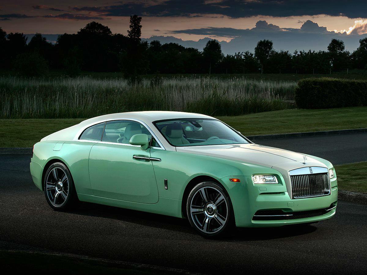 Rolls Royce Wraith Jade Pearl 1