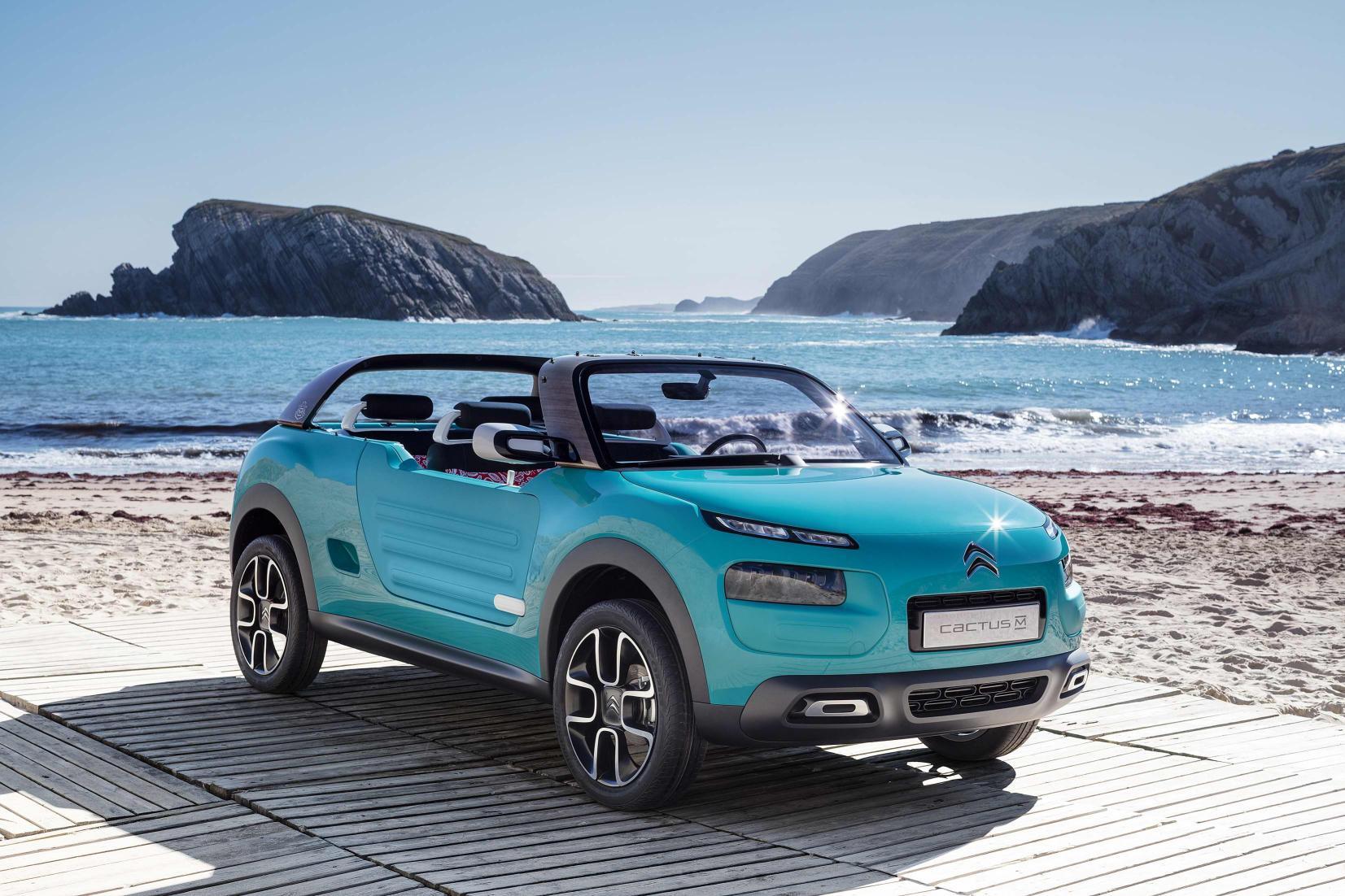 Citroën Cactus M Concept: llega el nuevo Méhari