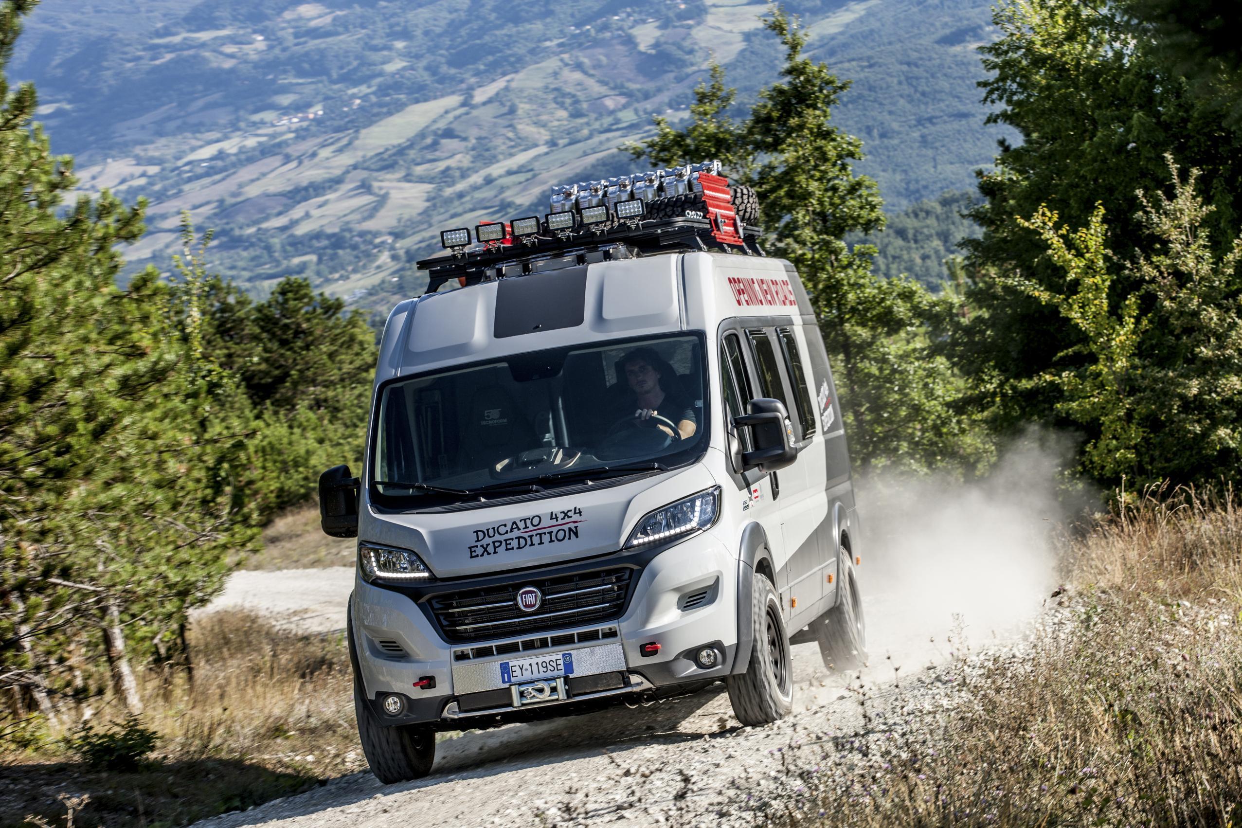 Fiat Ducato 4×4 Expedition: para los más aventureros