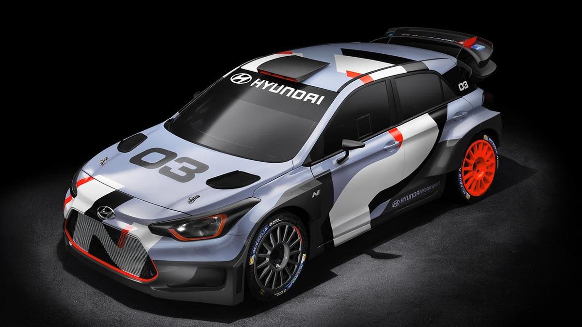 Hyundai i20 WRC 1