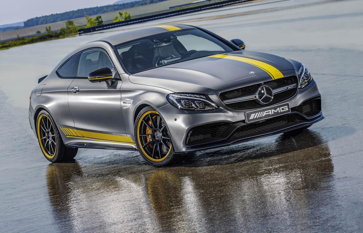 Mercedes AMG C 63 Coupé Edition 1: el más exclusivo