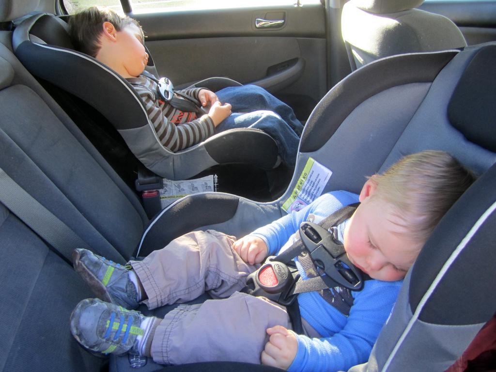 Niños en el coche 1