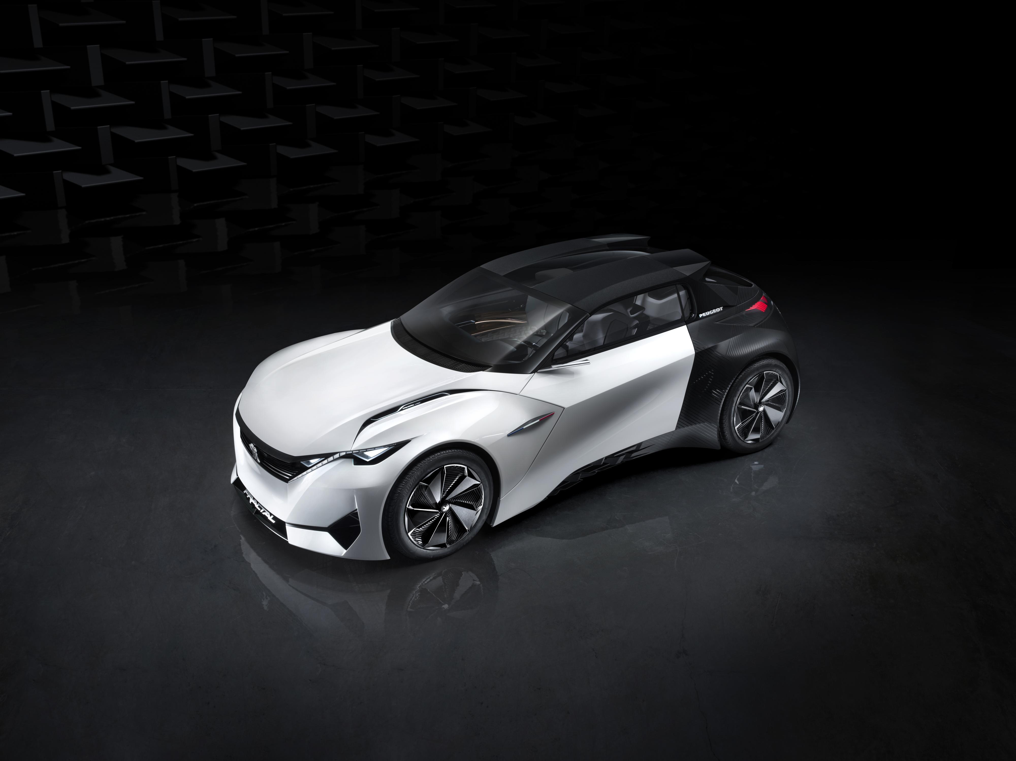 Peugeot Fractal: coupé y urbano, todo en uno