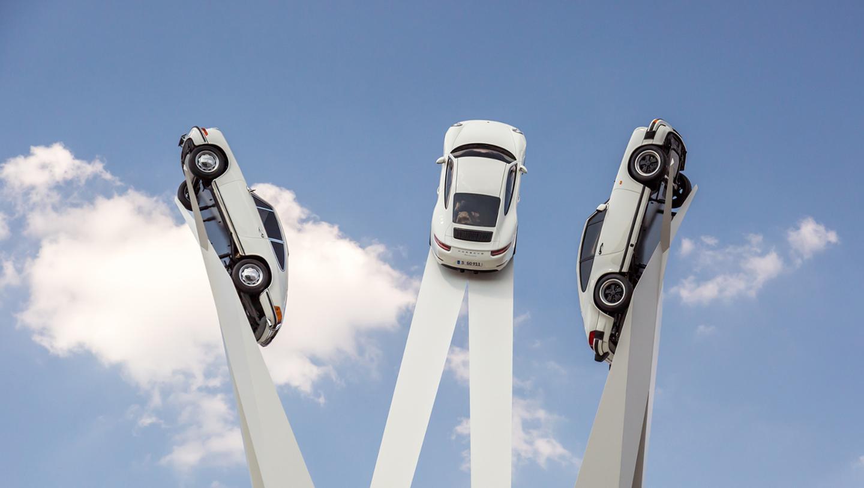 El Porsche 911 es un monumento… ¡literalmente!