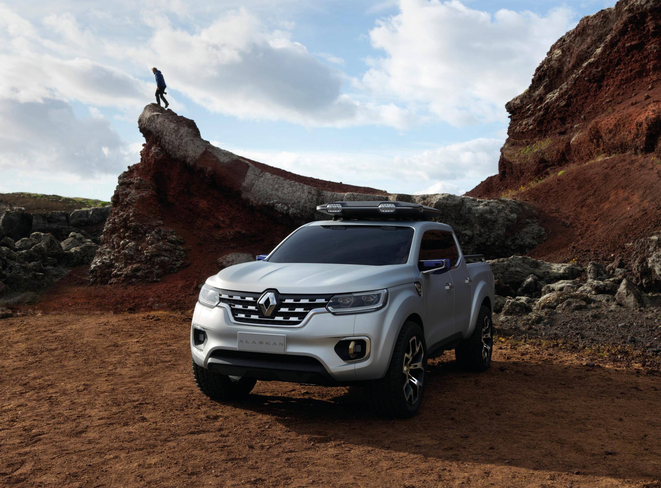 Renault Alaskan Concept: el pick-up del futuro