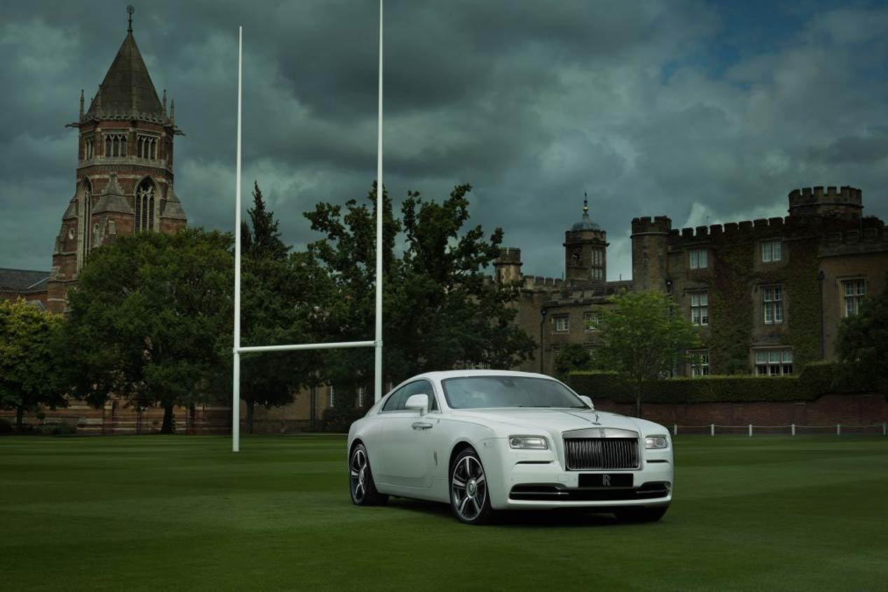 Rolls Royce Wraith History of Rugby 1