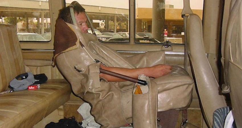 Se disfraza de asiento