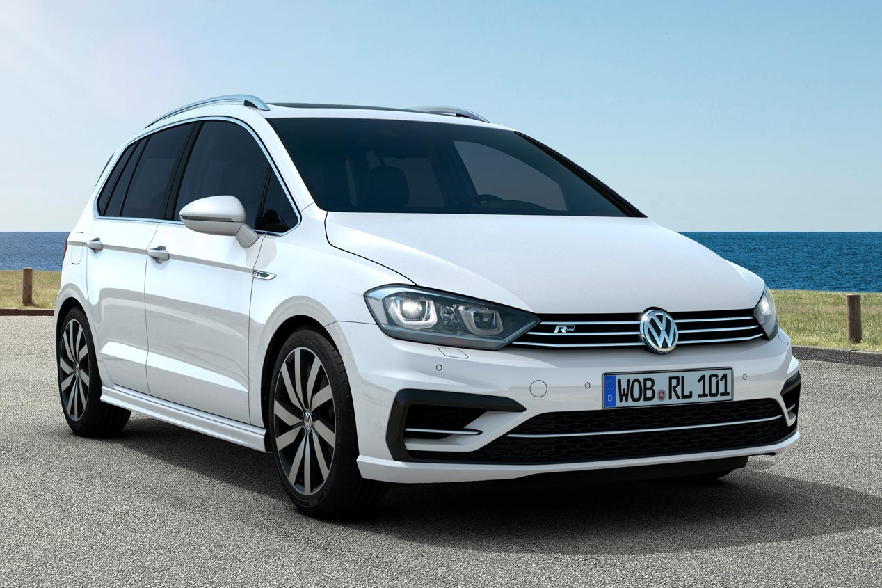 Volkswagen Golf Sportsvan R-Line Packs: deportividad en dos partes