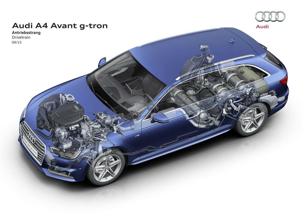 Audi A4 Avant g-tron 2