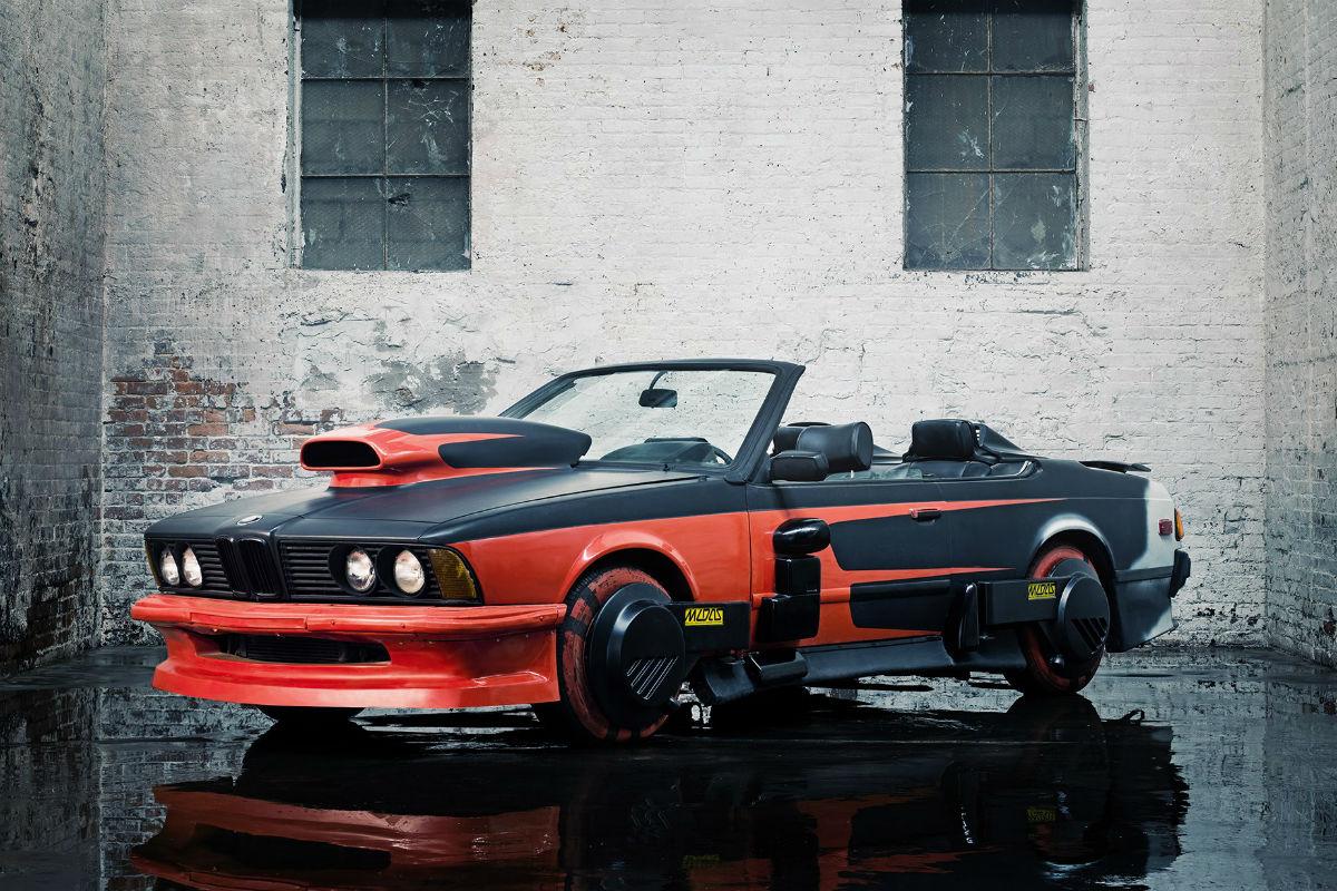 BMW 633 CSI, el 'malo' de Regreso al Futuro