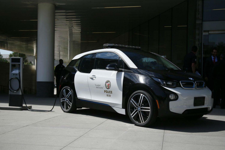 BMW i3 policia 1