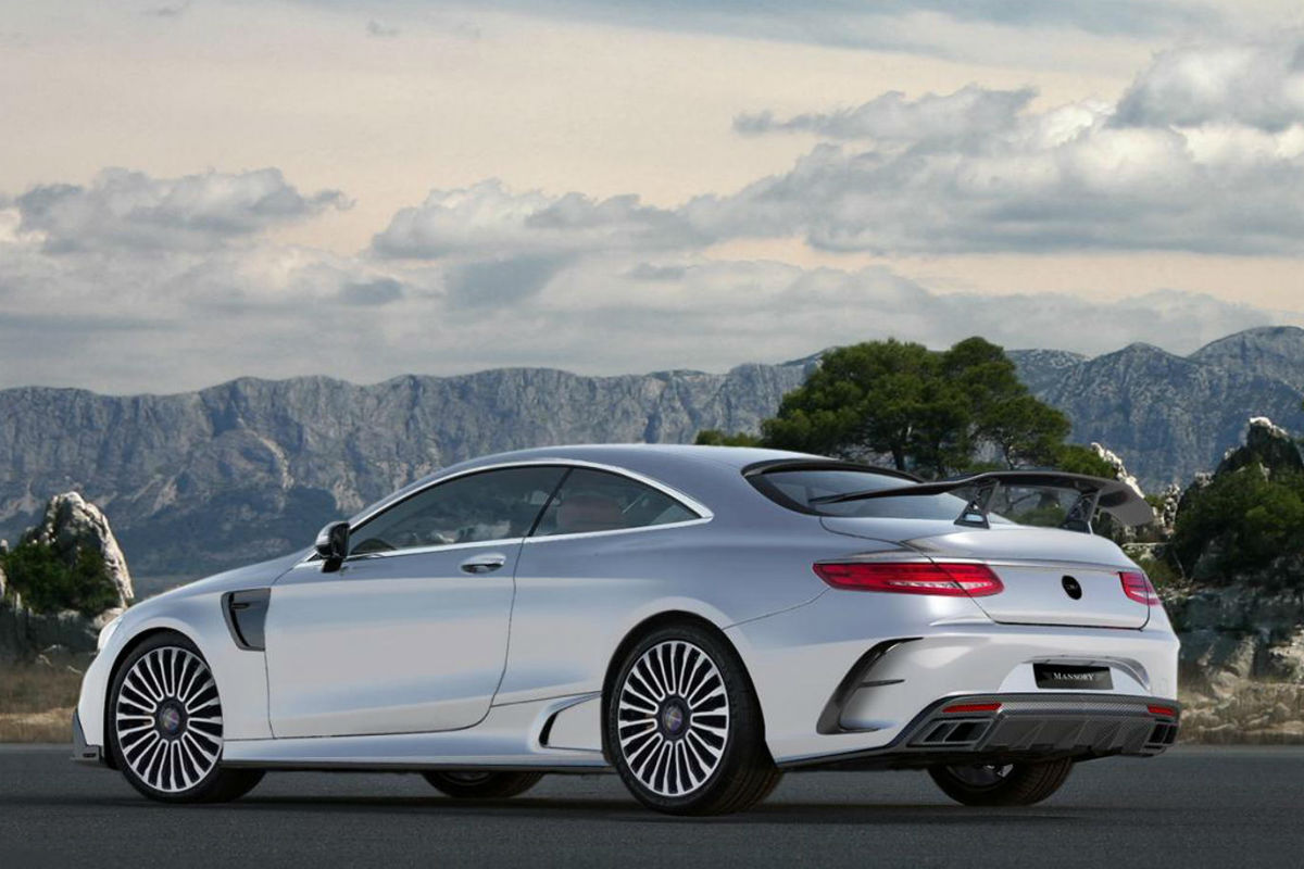 Mansory S 63 AMG Coupe 1