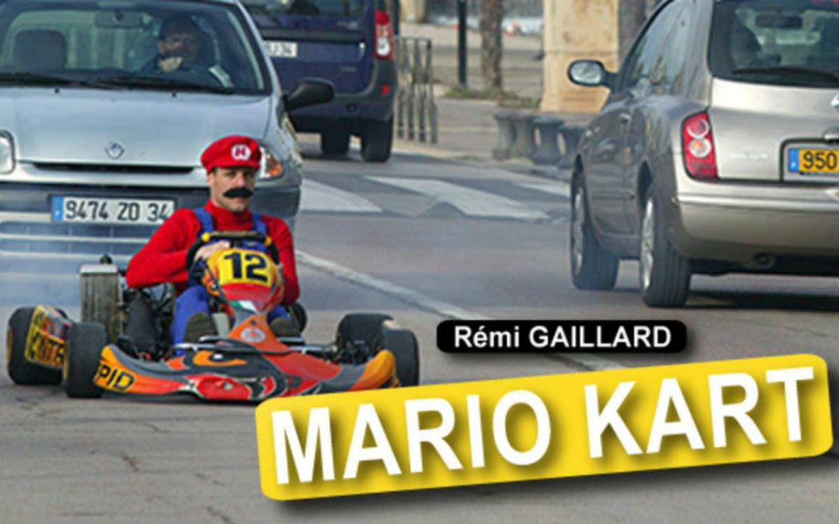 Mario Kart… ¡en la vida real!