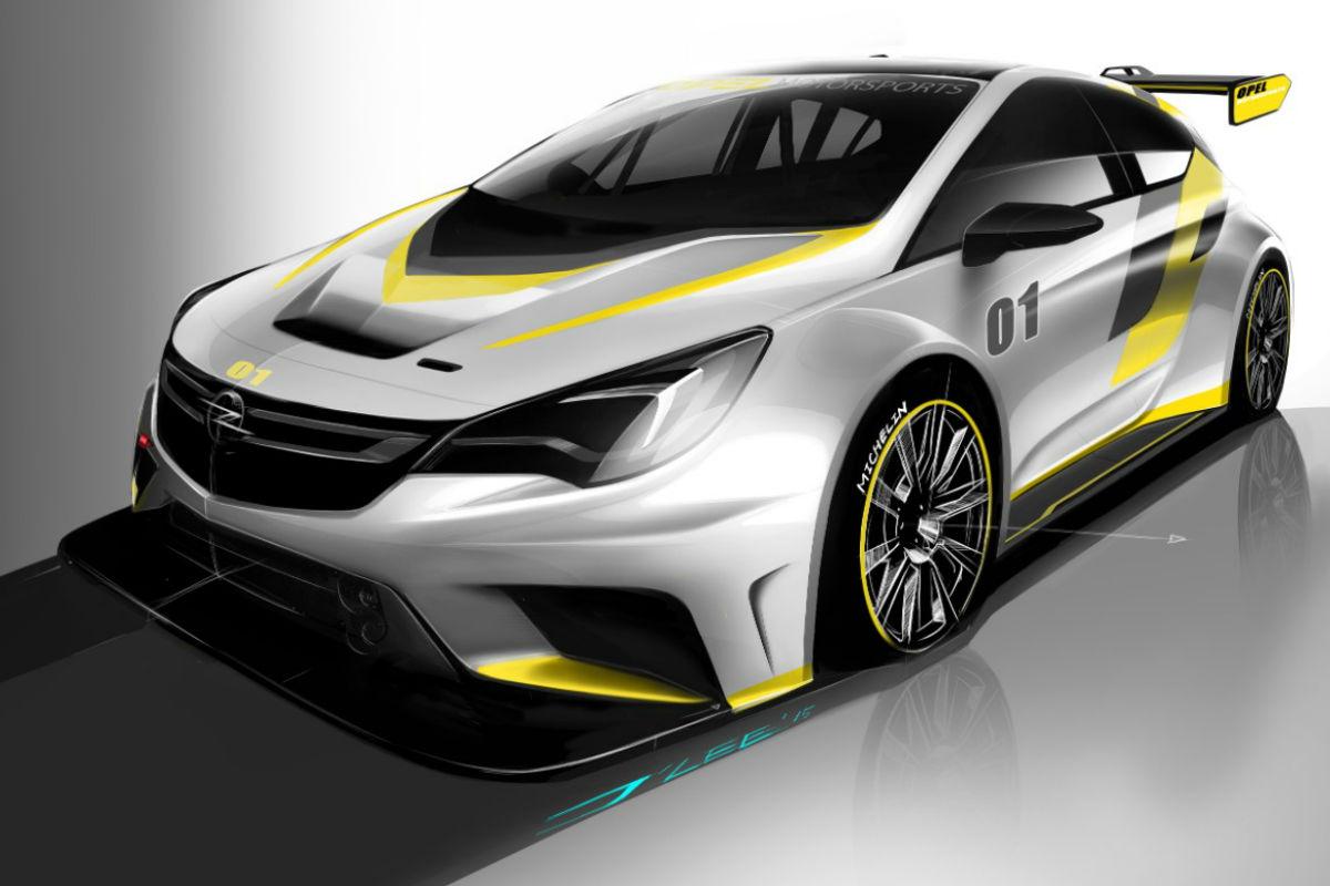 Así será el futuro Opel Astra TCR