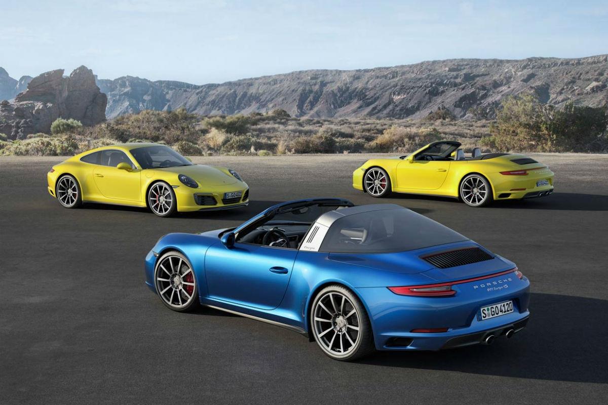 Porsche 911: llega la era turbo a los tracción 4