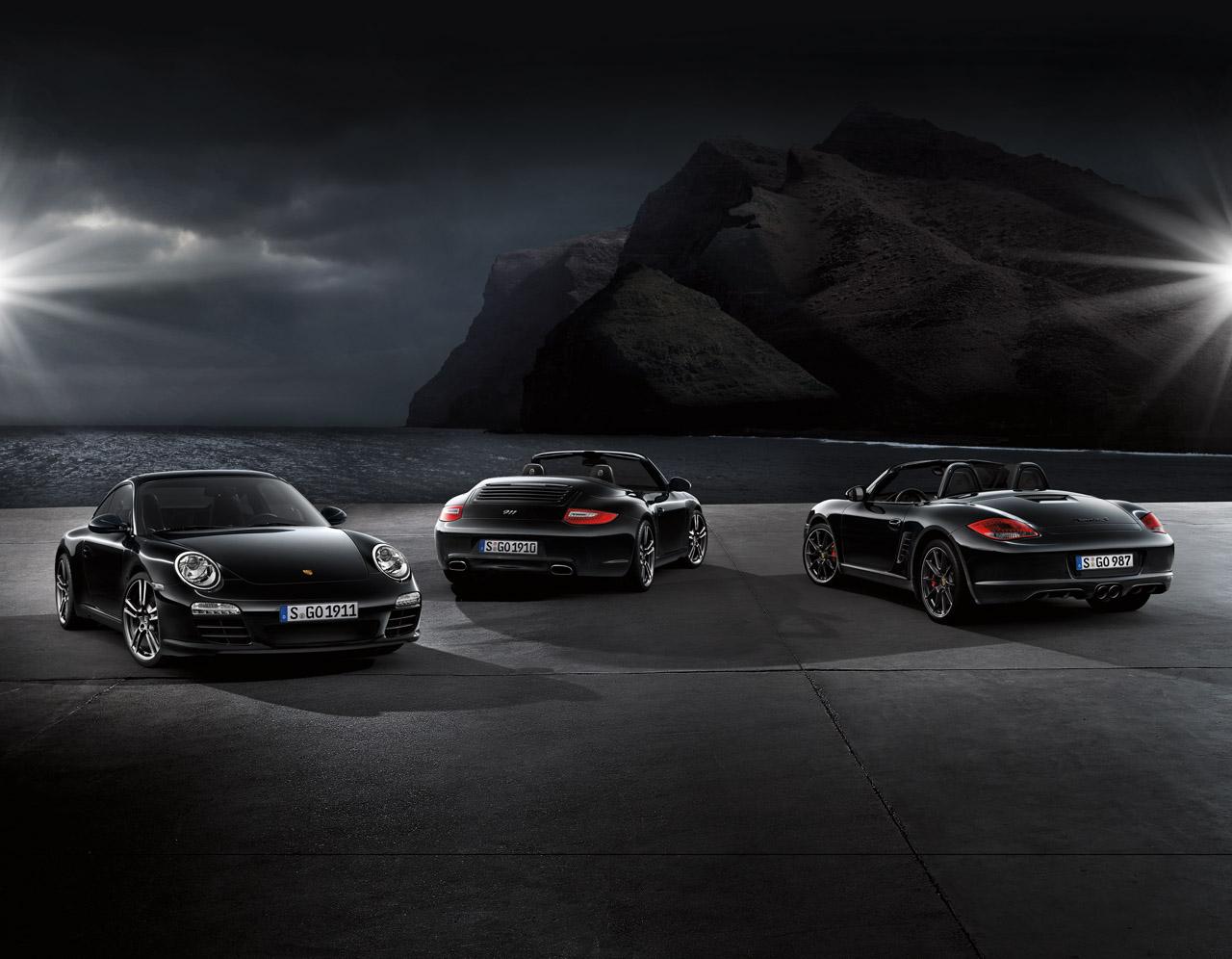 Porsche-Black-Edition
