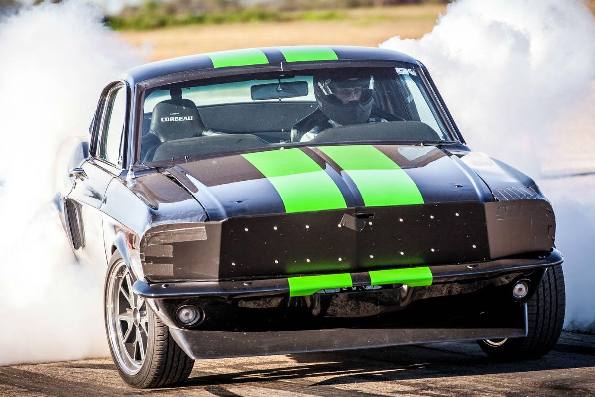 Zombie 222: el Mustang más rápido de la historia ¡es del 68!