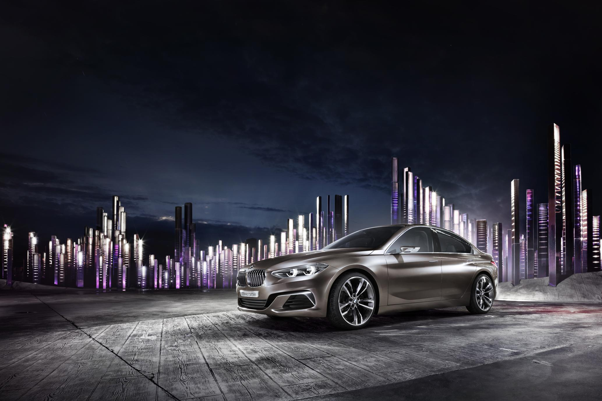 BMW Concept Compact Sedan 3