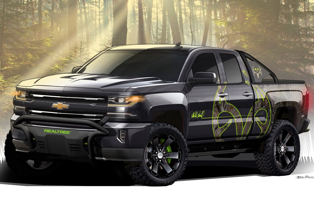 Chevrolet Silverado Realtree Bone Collector 1