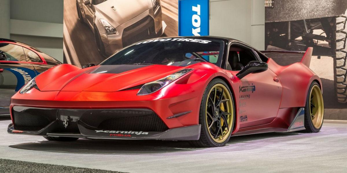 Ferrari 458 Italia Misha Designs 1