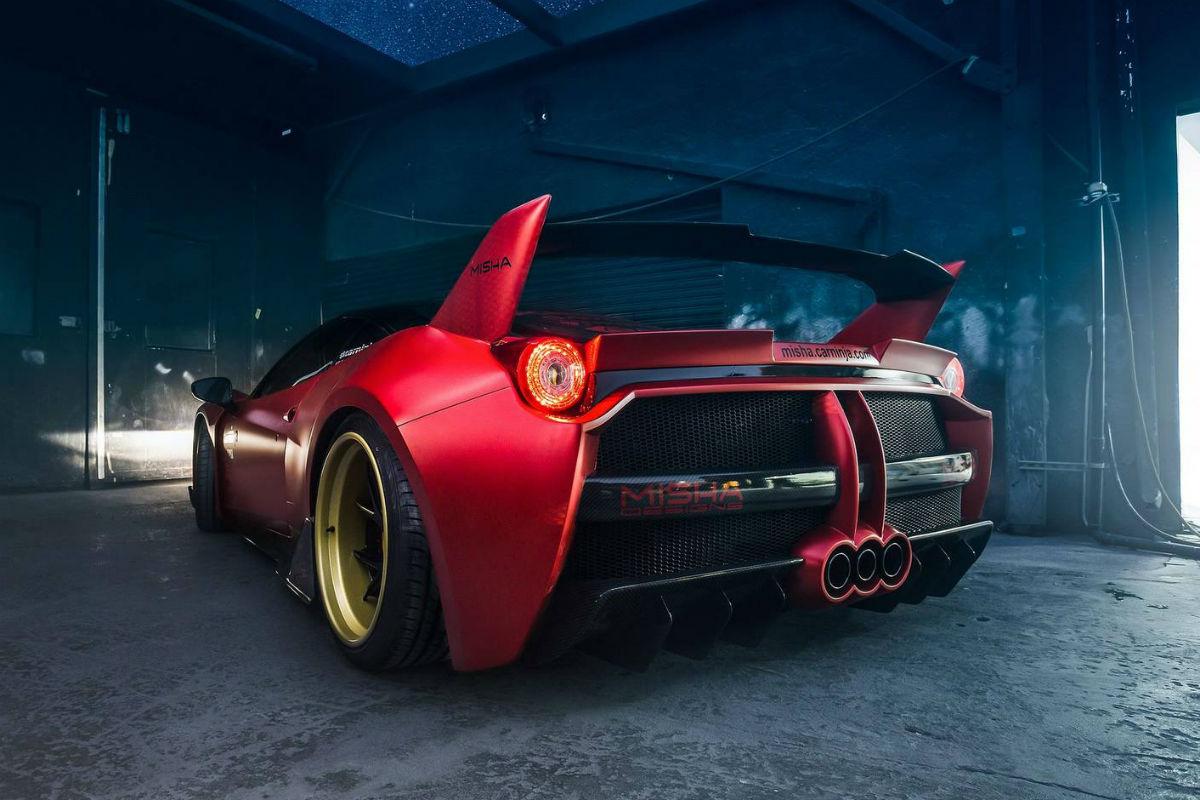 Ferrari 458 Misha Designs, imitando a su hermano mayor