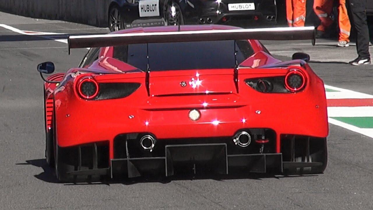 Ferrari 488 Gt3 Alma De Circuito