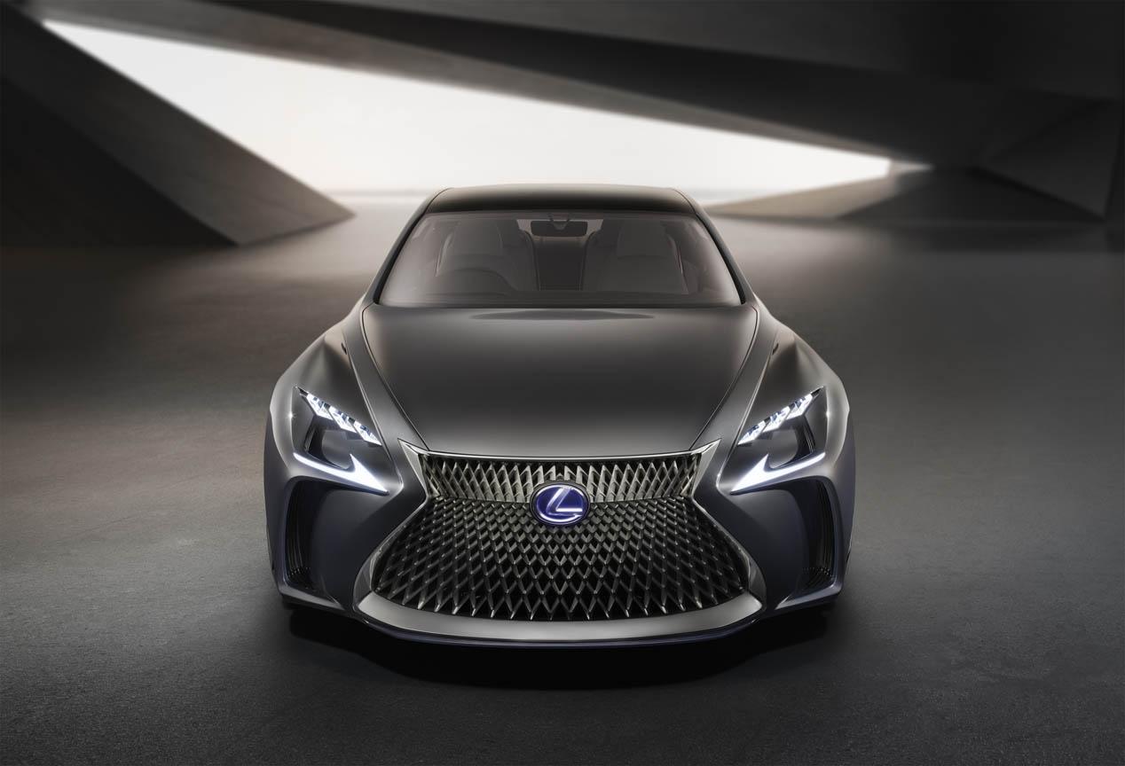Lexus LF-FC Concept, el anticipo del futuro LS