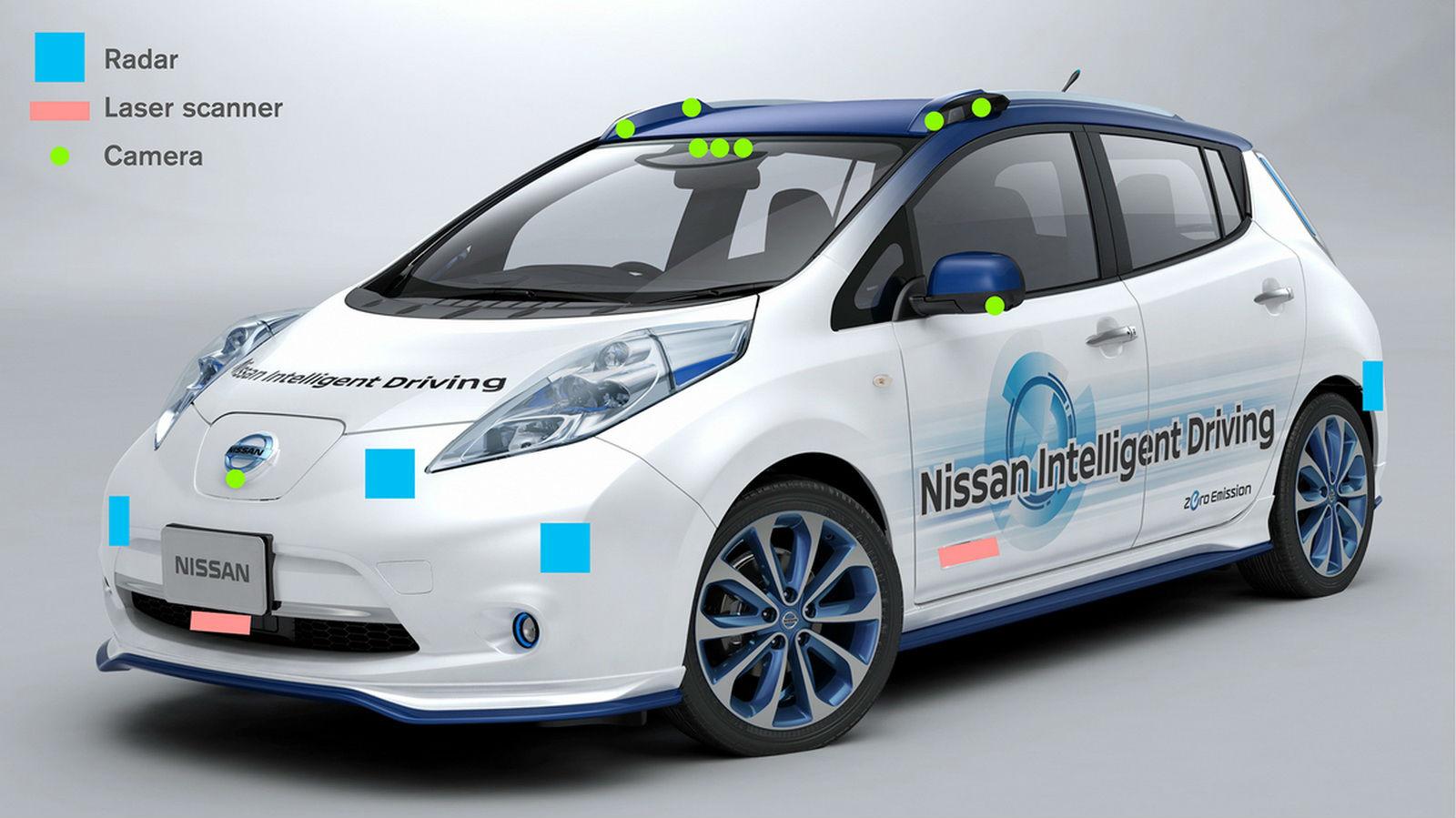 Nissan Leaf Piloted Drive 2
