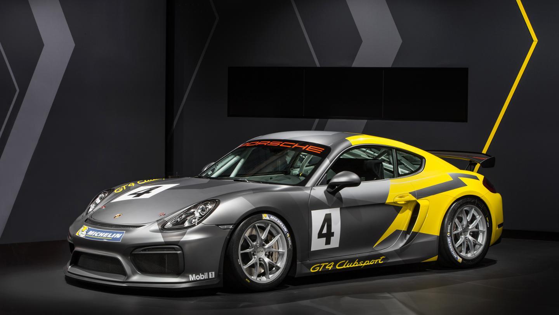 Porsche Cayman GT4 Clubsport 1