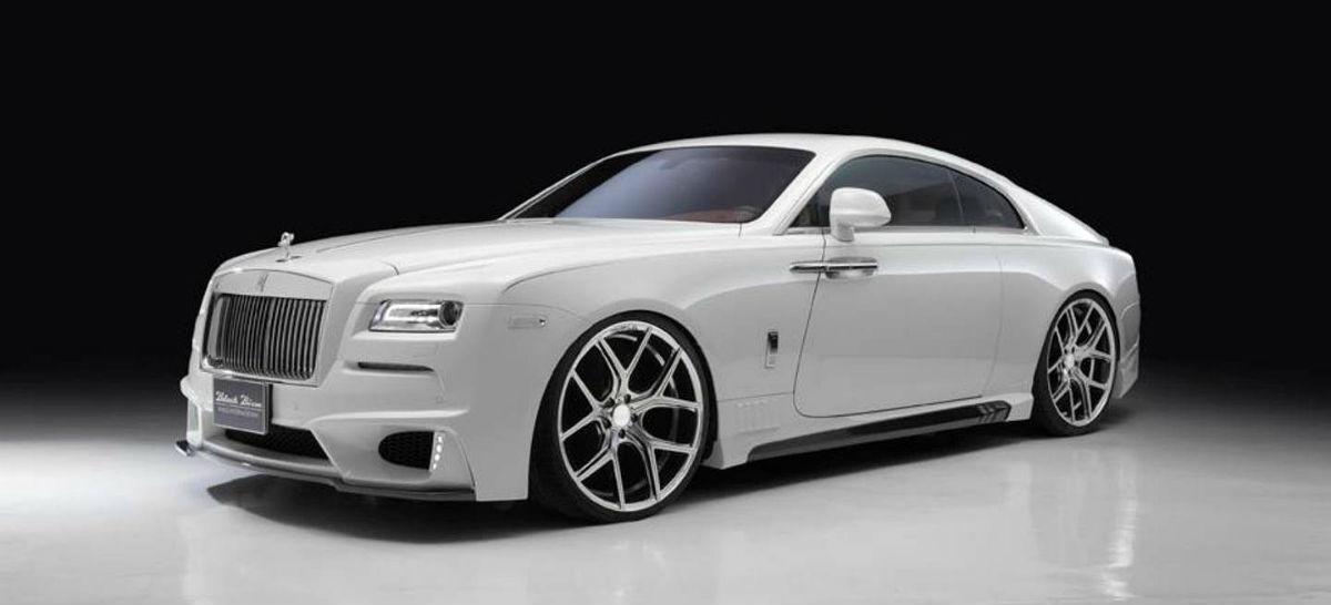 El Rolls-Royce Wraith se pone chulo