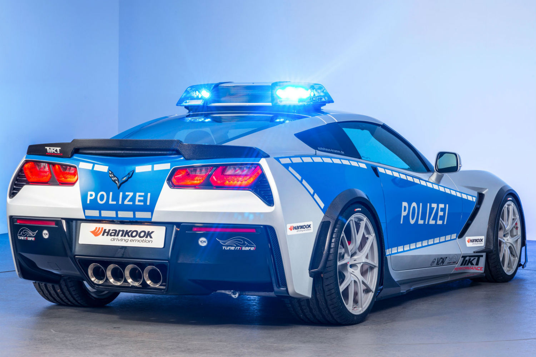 Chevrolet Corvette policia 2