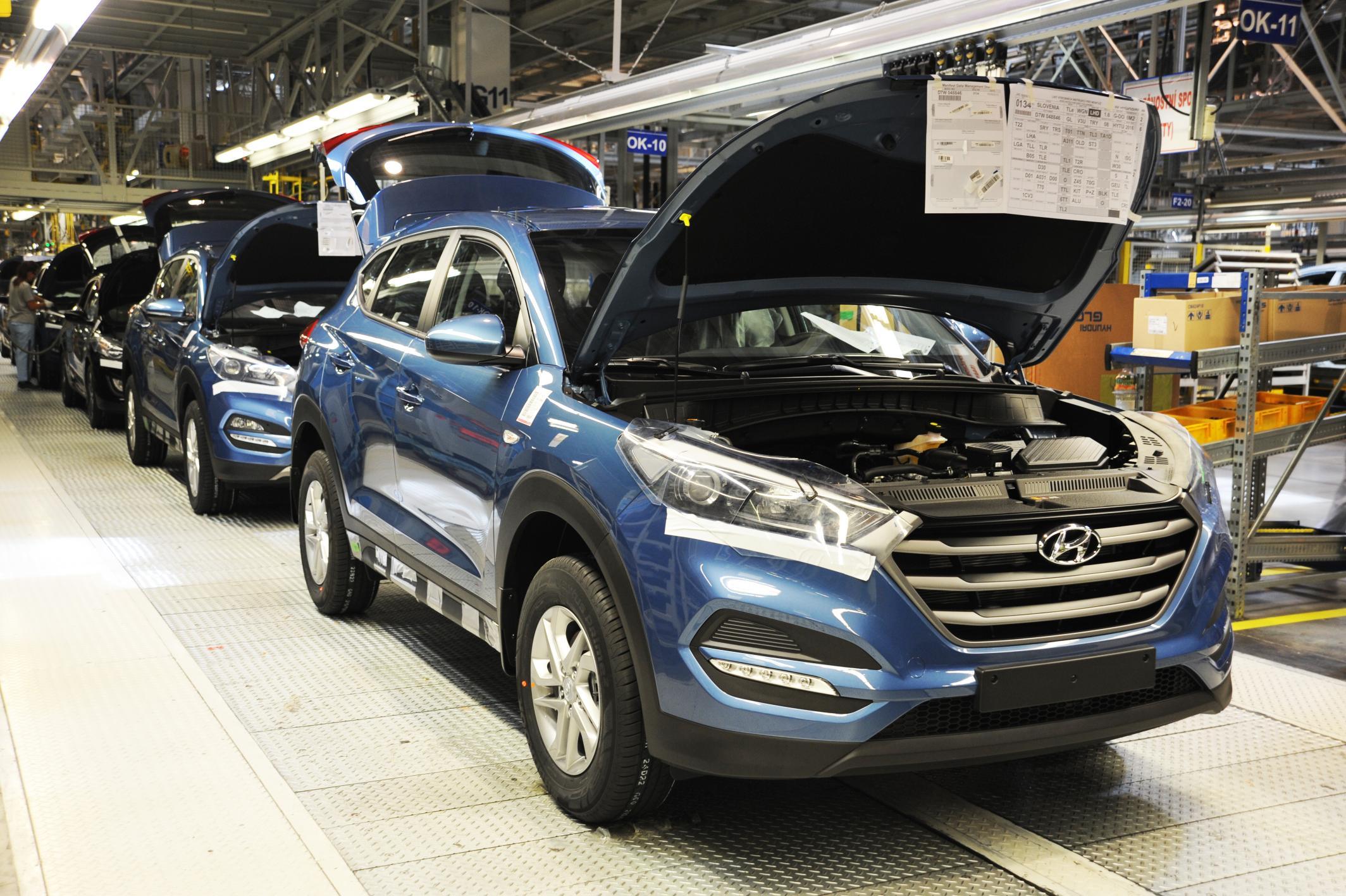 Tucson, el modelo más vendido de Hyundai