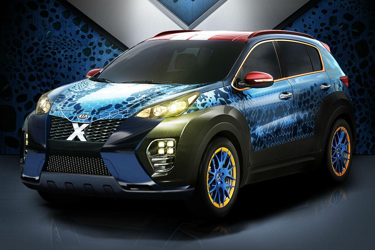 Kia Sportage X-Men 1