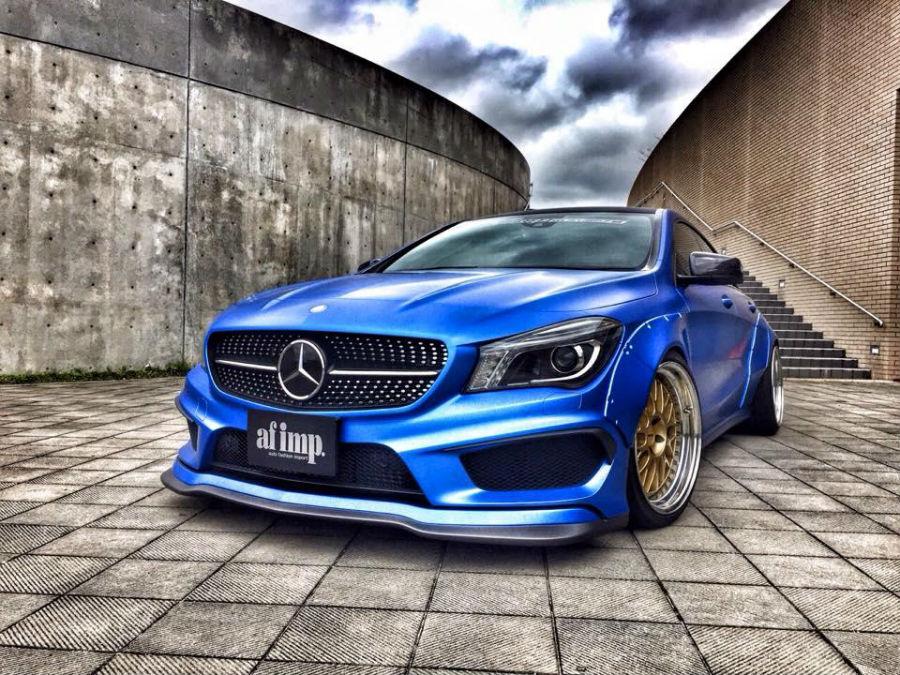 Mercedes CLA Fairy Design 1