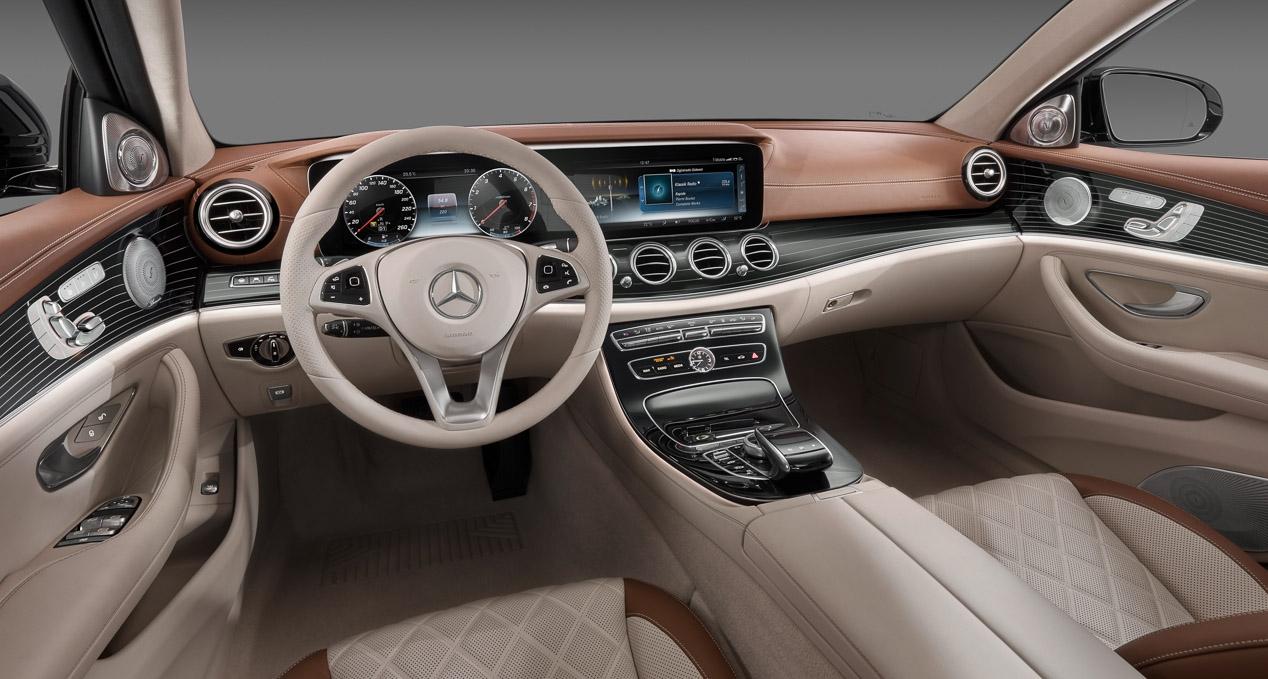 Mercedes Clase E interior 1