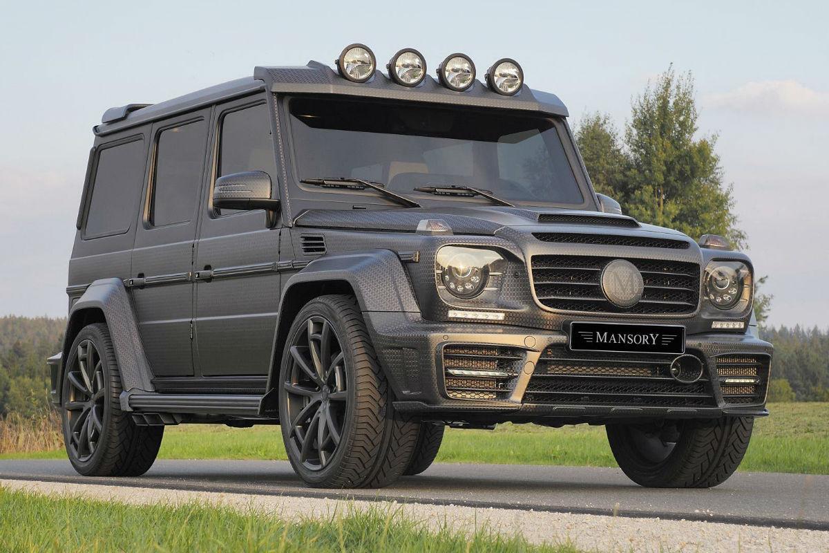 Mercedes G63 Gronos Black Edition 1