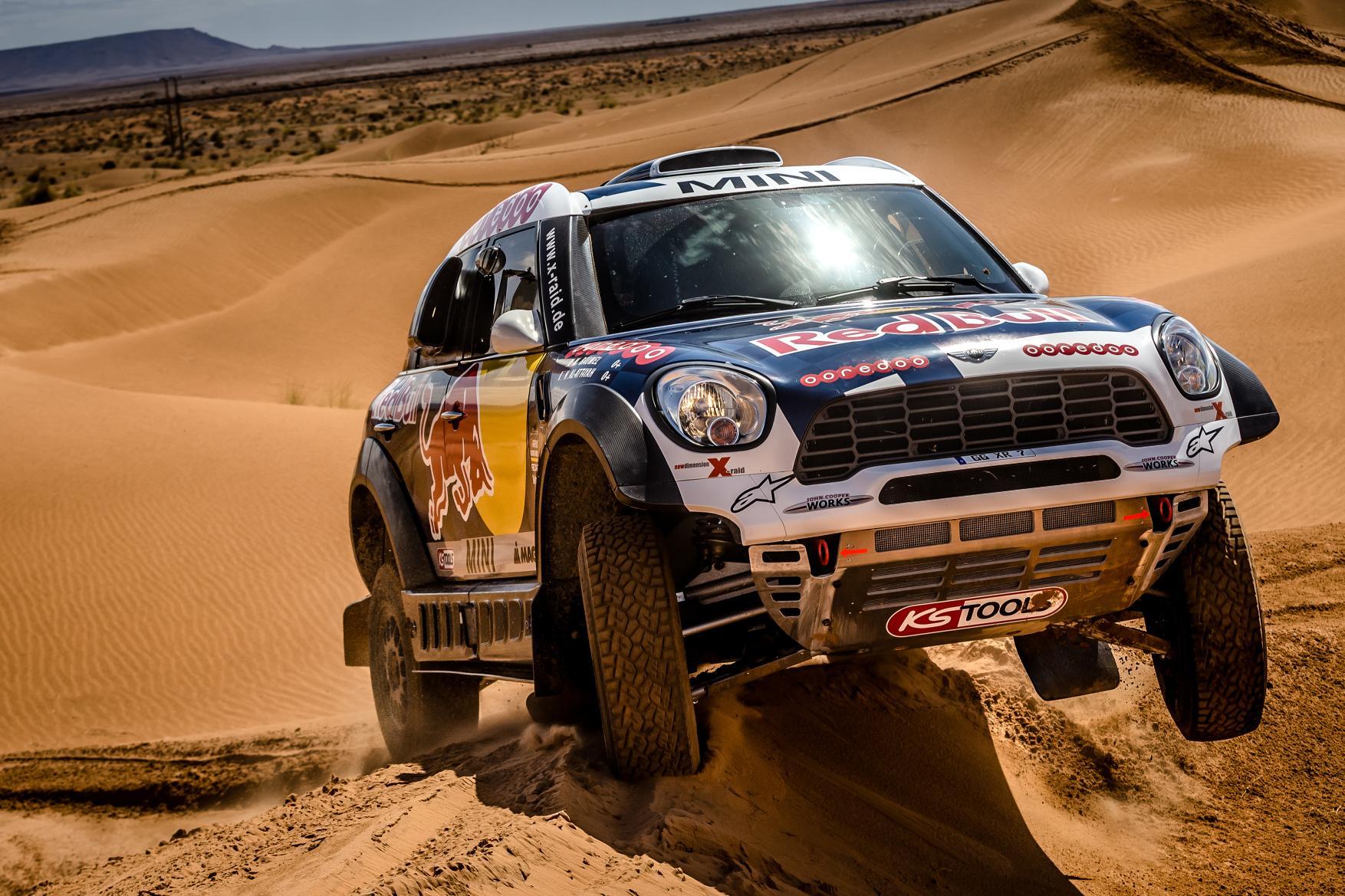 El Mini más brutal, a la conquista del Dakar