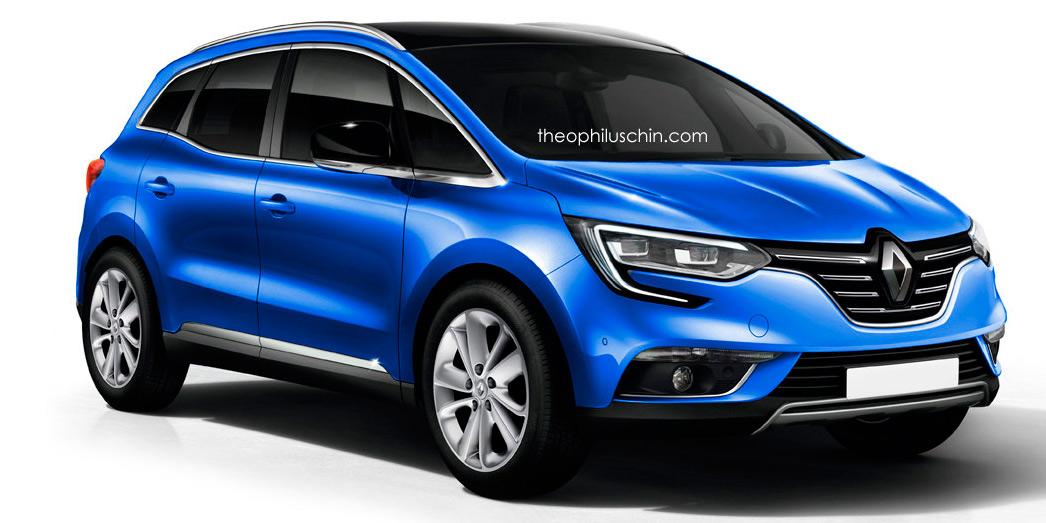 Nuevo Renault Scenic, mirando a 2017