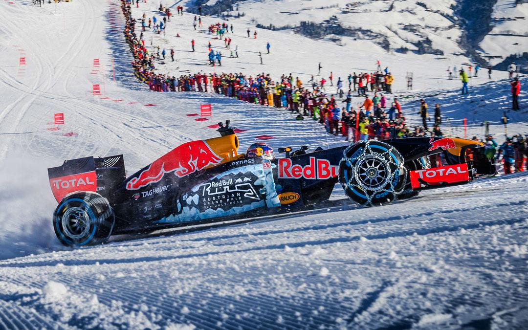 Red Bull nieve